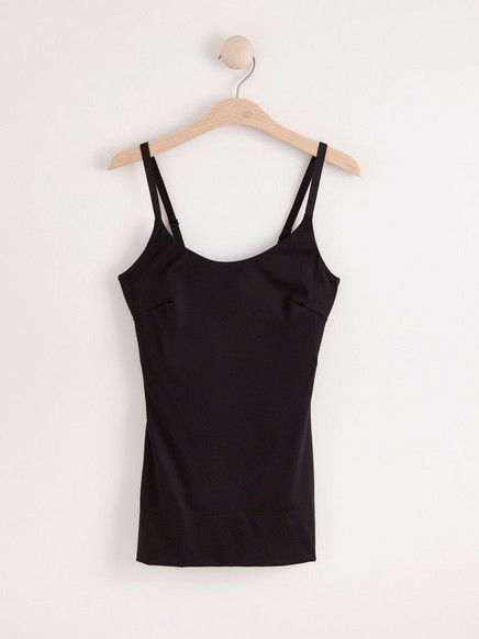 Tvarující košilka Černá
