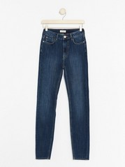 VERA Blue skinny jeans with high waist  Blue