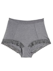 Classic High Briefs Grey