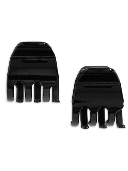 2-pack hårklämmor Svart