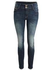 LILLY Blue slim fit shaping jeans Blue