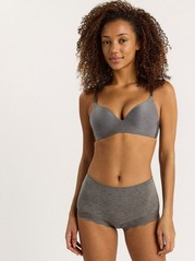 Flirt Wirefree Bra Grey