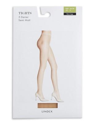 Bare Legs Tights 5 denier Hudfarge