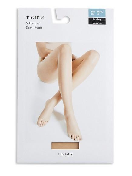 Bare Legs strumpbyxa 5 denier Beige