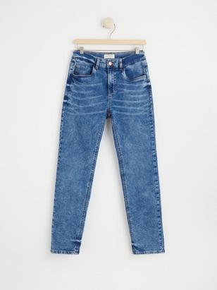 Regular Jersey Jeans Blue