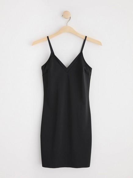 Tvarovací šaty Černá