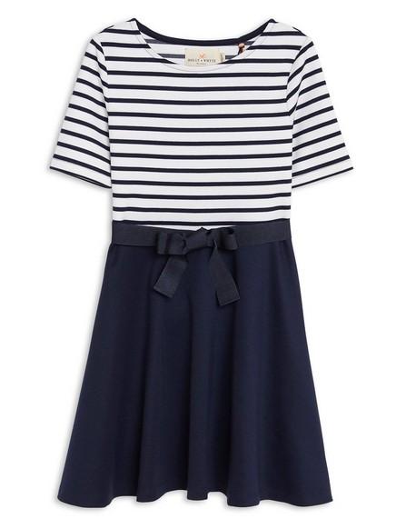 Jersey Dress Blue