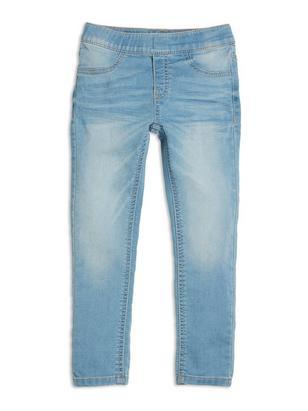 Slim Jersey Jeggings Blue