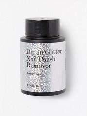 Dip in glitter nail polish remover Blank