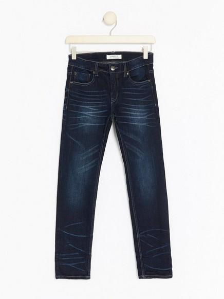 Narrow jeans Blå