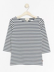 Boatneck Top Blue