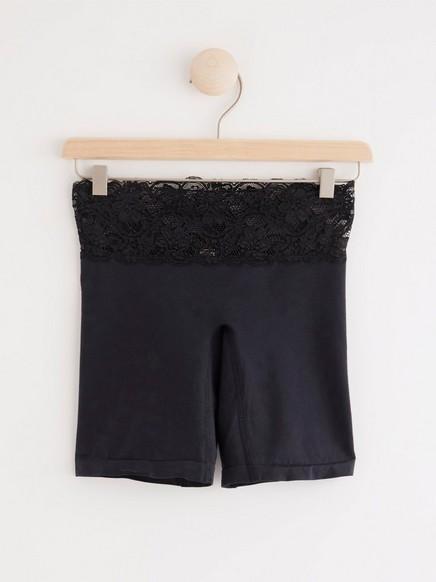 Kalhotky Boxer Midi Černá