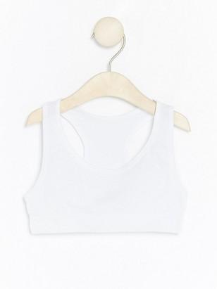 Lyhyt pusero Valkoinen