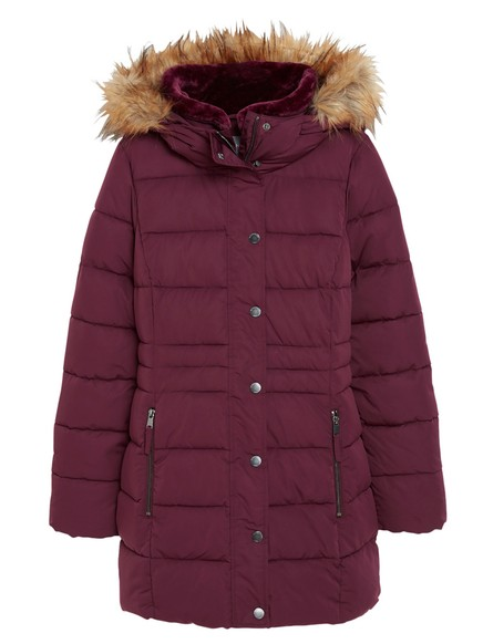 Padded Jacket Red