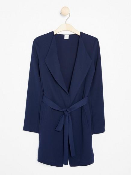 Pehmeä takki Sininen