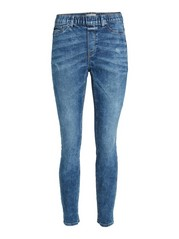 TOVA Blue slim fit jeggings Blue