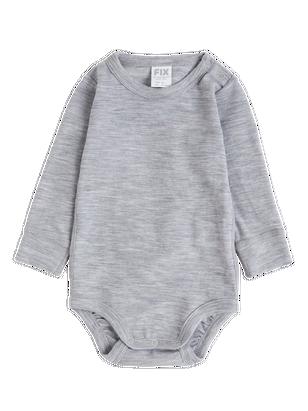 FIX wool Bodysuit Grey