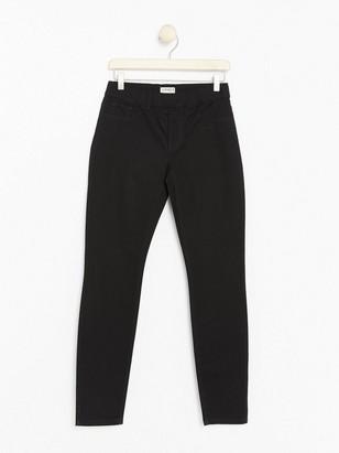 TOVA Black slim fit trousers  Black