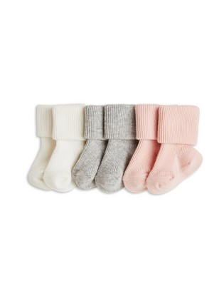 3-pack Socks Pink