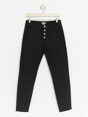 MAIA Tapered Trousers Black