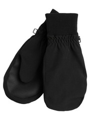 Water repellent Mittens Black
