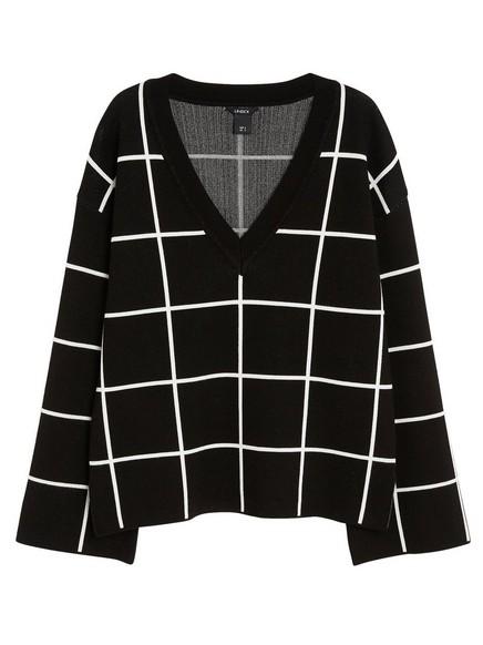 V-neck Sweater White