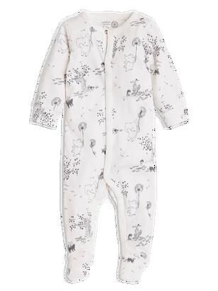 Pyjamas with Feet White
