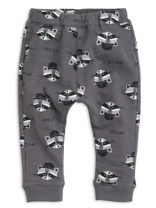 Sweatpants with Print Grey