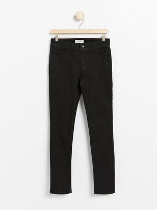 Slim Jeans with Super Stretch Black