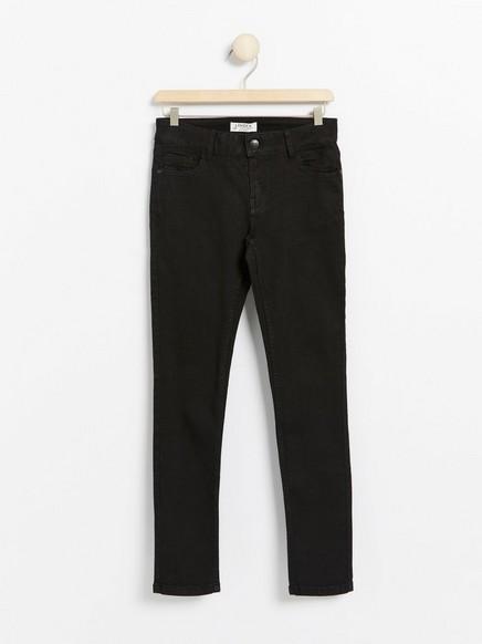 Slim jeans med superstretch Svart