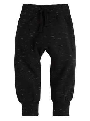 Sweatpants with Brushed Inside Black