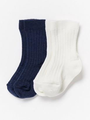Dvojbalení ponožek Modrá