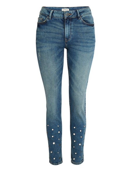 TOVA slim regular jeans Blå