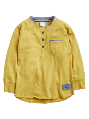 Grandad Shirt Yellow