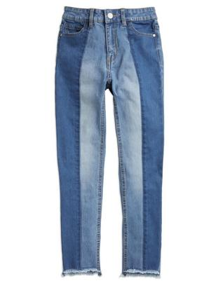 Slim High Jeans Blue