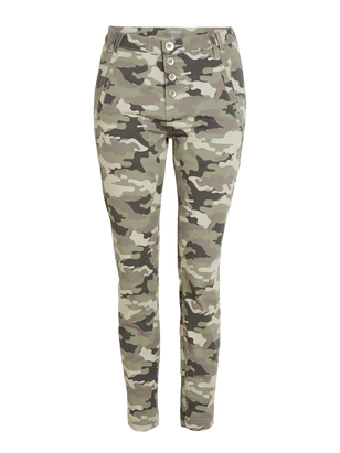 MAIA Tapered Trousers Green