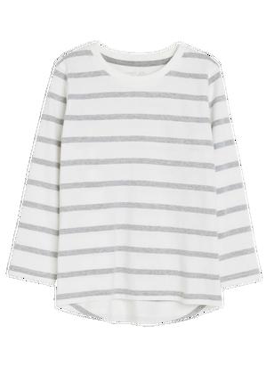 Striped T-shirt Grey