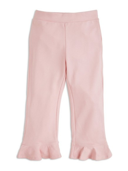 Leggings med volang Rosa