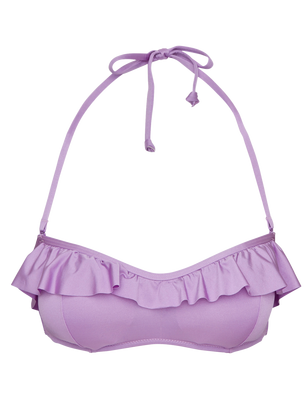 Bandeau Bikini Bra Lilac