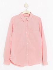 Skjorta i bomull  Orange