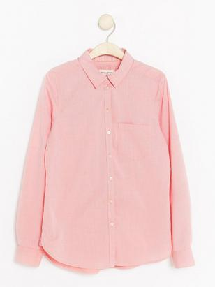 Cotton Shirt Orange