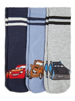 3-pack Antislip Socks Blue