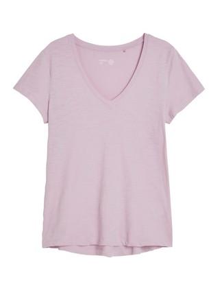 Žerzejové tričko Fialová
