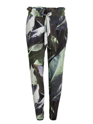 AVA Tapered Trousers Green