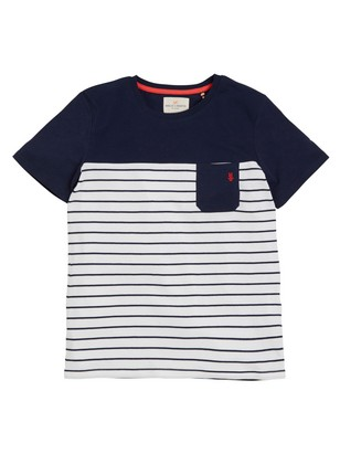 Striped T-shirt Blue