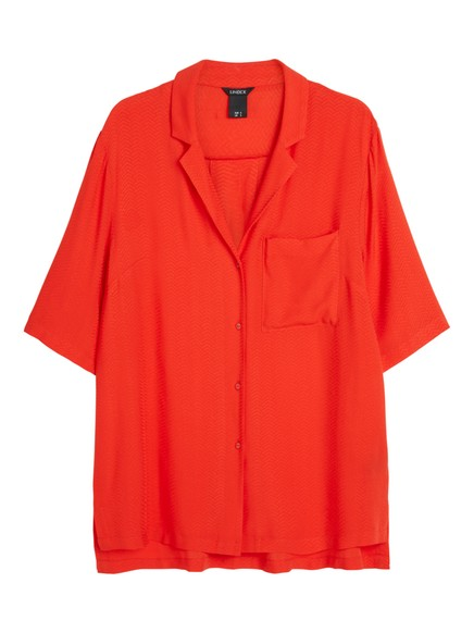 Viscose Blouse Red