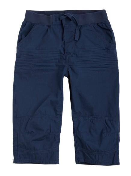 Shorts i poplin Blå