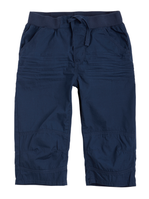 Poplin Shorts Blue