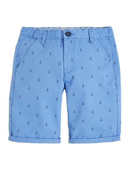 Regular Chino Shorts Blue