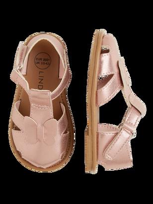 Shiny Sandals Pink
